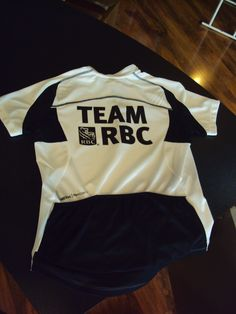 This company wanted their logo on the back of bicycling shirts for a bike race they were participating in.  Printed with Direct to Garment for a durable print that breathes with the fabric.