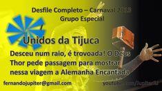 Desfile Completo Carnaval 2013 (COM NARRAÇÃO) - Unidos da Tijuca