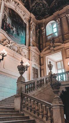 Queen Aesthetic, Princess Aesthetic, Beige Aesthetic, Travel Aesthetic, Aesthetic Art, Aesthetic Pictures, Baroque Architecture, Beautiful Architecture, Beautiful Buildings