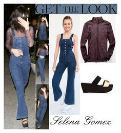 """""""Selena Gomez Dinner at Terroni In Los Angeles January 15, 2017"""" by valenlss ❤ liked on Polyvore featuring Wrangler"""