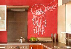 www.facebook.com/VinilosDecorativosCR Decoración de Cocina vinilos personalizados