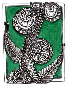 Mandala Tree? by Artwyrd.deviantart.com on @deviantART