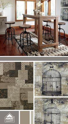 Lovin' all of it! Pinnadel Dining - Ashley Furniture HomeStore