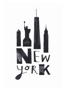 New York poster-picture