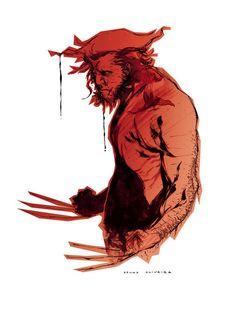 astonishingx:  Wolverine by Bruno Oliveira