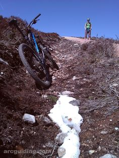 Riding up to the snow on the Burma Road. | Malc's Blog