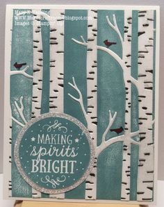 Mary's Craft Room: Among the Branches Christmas