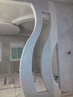 جبس مغربي اقواس - Cerca con Google Tv Wall Design, Floor Design, House Design, Gypsum Design, Modern Tv Wall Units, Tv Unit Decor, Plafond Design, Rack Design, False Ceiling Design
