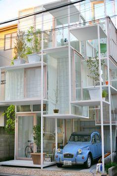 Simply inspirational by www.ConfidentLiving.se #House NA, Sou Fukimoto Architects, Tokyo