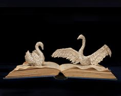 Photographic Print of Book Sculpture 'Swan von FromWithinABook, £10.00