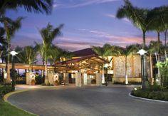 Club Member Enterance at PGA National Resort & Spa. #PGAnational #Clubmembers #Exclusive