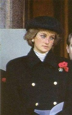 Image result for remembrance sunday princess diana 1988