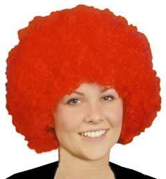 Just For Fun Pop Wig (Bargain) - Red -- Check this awesome product by going to the link at the image.