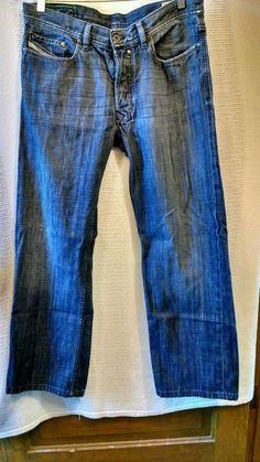 Diesel 'Quratt' Men's Button Fly Jeans 100% Cotton Tunisia  Sz 32/32 #DieselIndustry #ClassicStraightLeg