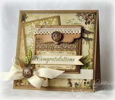 Congratulations by PickleTree - Cards and Paper Crafts at Splitcoaststampers