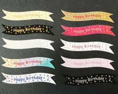 Happy Fathers Day banners//card toppers on 300gsm quality boards pk10