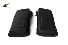 RS hard saddlebag lids ace of spades design for touring 1993-2013 Image