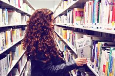 naturally curly hair | photo by alexis belon.... photo shoot in library? @Abby Christine Schmidt @Anna Totten Klusewitz