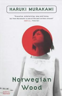 A beautiful cover for Haruki Murakami's heartbreakingly exquisite Norwegian Wood.