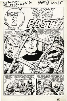 Page from FANTASTIC FOUR #5 by Jack Kirby and Joe Sinnott