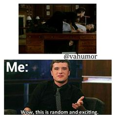 Anyone else have this reaction :) #RoseUndertheDesk #Kirova #BloodWhore #JoshHutcherson