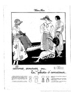 Les Modes de la femme de France | 1921-06-26 | Gallica