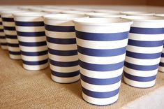 Ikea cups - so cute.  Also need to get striped paper straws and bakers twine.