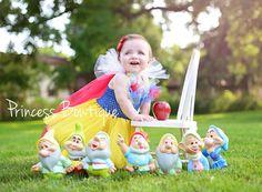 Baby Snow White Tutu Dress Costume Dress Up Play Birthday