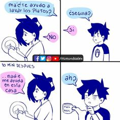 Tumblr Comics, Funny Images, Funny Pictures, Spanish Memes, Life Memes, Work Humor, Super Funny, Christmas Humor, Funny Comics