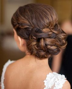 Enjoyable 1000 Images About Bridesmaids Hairstyles On Pinterest Hairstyle Inspiration Daily Dogsangcom