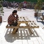 Plans to make a picnic table and composter with pallets 1