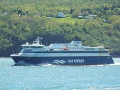 Enjoy a three-hour cruise across the Bay of Fundy between Saint John, New Brunswick and Digby, Nova Scotia with Bay Ferries. Navi, Ferry Boat, New Brunswick, Boat Plans, Nova Scotia, Boats, Cruise, Most Beautiful, Ship