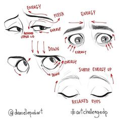 Amazing Learn To Draw Eyes Ideas. Astounding Learn To Draw Eyes Ideas. Realistic Eye Drawing, Manga Drawing, Drawing Techniques, Drawing Tips, Learn Drawing, Desenhos Halloween, Facial Expressions Drawing, Drawing Exercises, Drawing Reference Poses