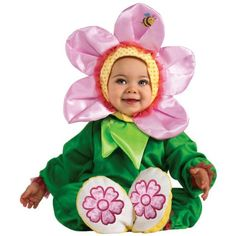 Rubies Costume Cuddly Jungle Pink Pansy Romper Costume Green 1218 Months >>> You can get more details by clicking on the image-affiliate link. #PartyCostumes