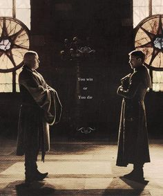 Game of Thrones / Varys & Littlefinger (together they have some of the best dialoge and most interesting scenes)                                                                                                                                                                                 Plus
