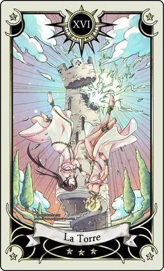 Tarot: The Tower by *rann-rann on deviantART