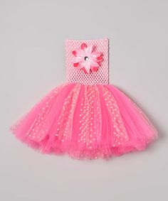 Bride and Babies Pink Polka Dot Flower Tutu Dress - Infant & Toddler Infant Toddler, Toddler Girls, Baby Couture, Pink Polka Dots, Tutu, Special Occasion, Little Girls, Girl Outfits, Baby Shower