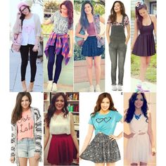 I Bethony Mota! Her outfits r so pretty. If u want to be added to this board plz comment below to be added and I will add u! Plz follow me!