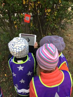 Qr-koder på förskolegården | Pedagog Västerbotten