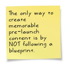 what you need to know about creating memorable launch content