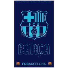 Toallas de Playa Escudo Azul Barcelona FC - Bazartextil.com