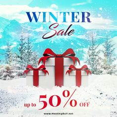 We want to surprise you in the New Year by offering you our huge 50% #discount .  In accordance with global #freezing , we have decided to #freeze the #servers and offer you some incredible #discounts.   If this sounds interesting, open this read more.  #winter #vps #cloud #datacenter #sales #wintersale #streaming #hosting #linux #windows #cpanel #plesk #bitcoin #bitcoinnews #btc #promotion #webhosting #gtld #domains #sale #wintersale #websitebuilder #wintersales #domains #epayments