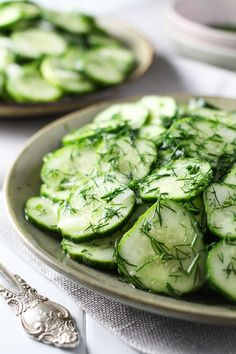 This simple German Cucumber salad is crunchy and refreshing. It's perfect for a…