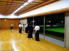 Aikido dojo. Martial arts schools and gyms