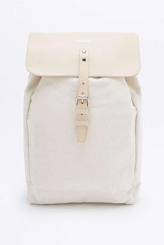 Sandqvist Alva White Backpack