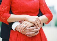 Engagement photograph.