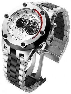 New Mens Invicta 15928 Subaqua Swiss Reserve Chronograph Steel Bracelet Watch