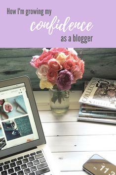 Blogging is so hard! But it's all about growing your confidence. Here's some great thoughts and quotes on confidence for women who blog and women in general.