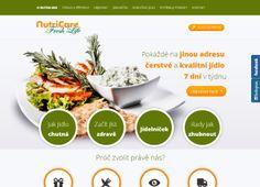 Webové stránky společnosti NUTRICARE