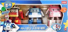 Robocar Poli Mini Transformer Rescue Set Educational Toy POLI_ROY_AMBER      eBay